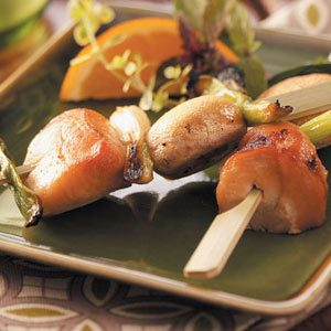 Appetizer Chicken Kabobs Recipe