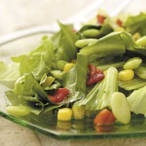 Corn 'n' Lima Bean Tossed Salad Recipe
