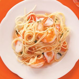 Seafood Angel Hair Recipe