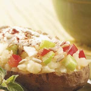Perked-Up Baked Potato Recipe
