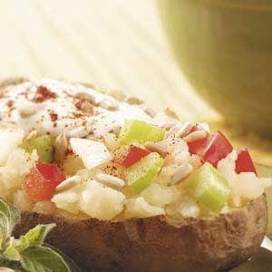 Perked-Up Baked Potato Recipe