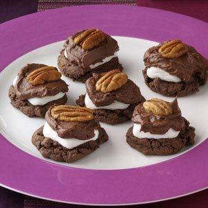 Chocolate-Covered Marshmallow Cookies