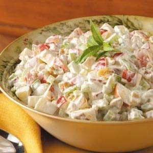 Waldorf Salad with Whipping Cream Recipe