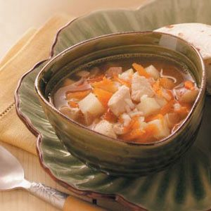 Chilly-Day Chicken Soup Recipe