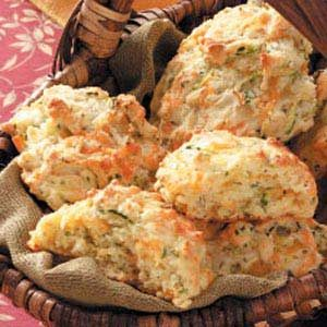 Zucchini Cheddar Biscuits Recipe