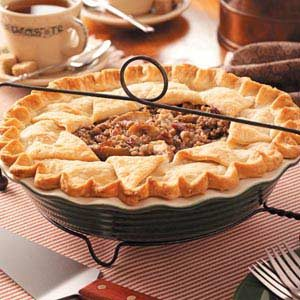 Pear Praline Pie Recipe