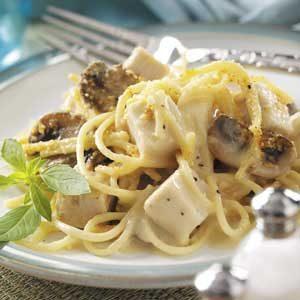 Mushroom Turkey Tetrazzini