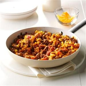 Mexi-Mac Skillet Recipe