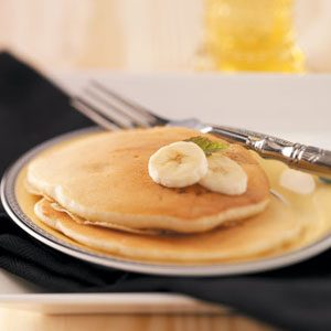 Breakfast Banana Pancakes Recipe