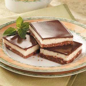 Peanut Chocolate Squares Recipe