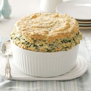 Spinach Pantry Souffle Recipe