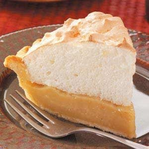 Maple Cream Meringue Pie