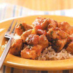 Salsa Orange Chicken Skillet