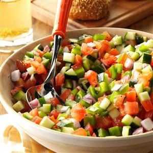 Chopped Garden Salad Recipe