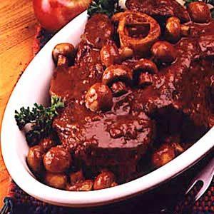 Dutch Oven Bavarian Pot Roast Recipe