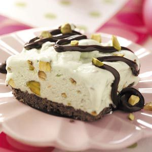 Frosty Pistachio Delight Recipe