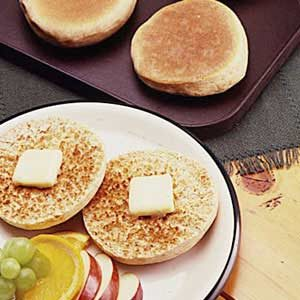 Whole Wheat English Muffins Recipe