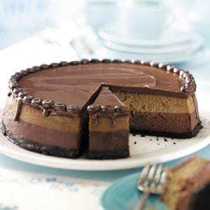 Layered Mocha Cheesecake Recipe