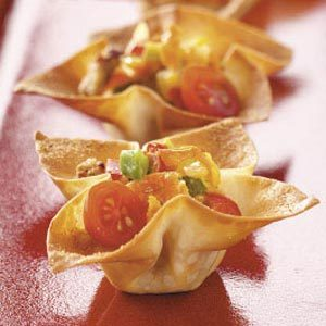 Spicy Sausage Wonton Stars Recipe