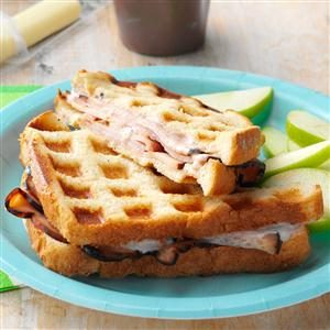 Turkey Wafflewiches Recipe