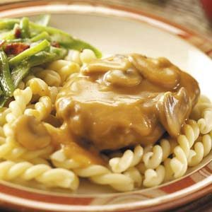 Salisbury Steak with Gemelli Recipe