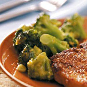 Orange-Glazed Broccoli Recipe