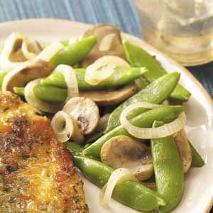 Snappy Pea Pods Recipe