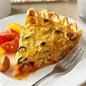 Chicken Taco Quiche Recipe