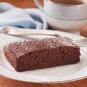 Moist Chocolate Snack Cake Recipe