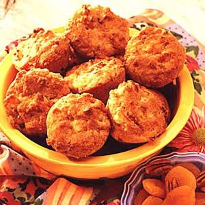 Nutty Apricot Muffins Recipe