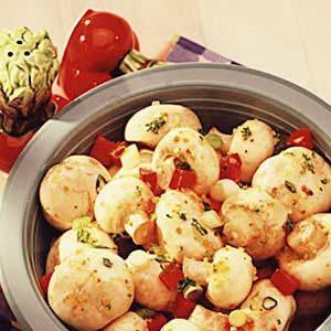 Easy Marinated Mushrooms Recipe photo by Taste of Home