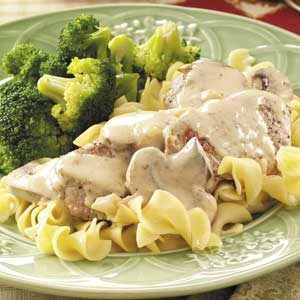 Honey-Dijon Pork Tenderloin with Mushrooms Recipe