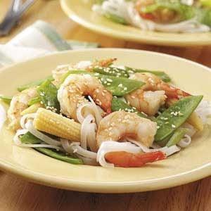 Vegetable Shrimp Stir-Fry Recipe