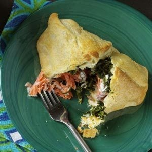 Spinach Salmon Bundles Recipe