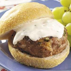 Ranch Turkey Burgers Recipe