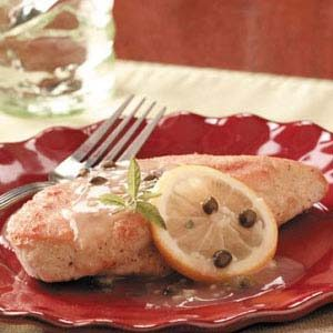 Lemony Chicken Piccata Recipe
