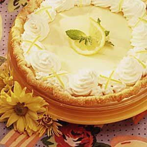 Luscious Lemon Pie Recipe