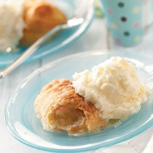 Crescent Apple Dumplings Recipe