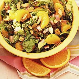 Fast Mandarin Almond Salad Recipe