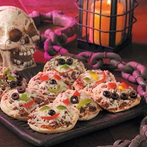 Monster Mini Pizzas Recipe