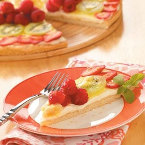 Fresh Fruit Pizza Recipe
