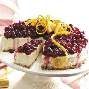 Holiday Cheesecake Recipe
