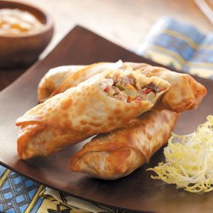 Effortless Egg Rolls