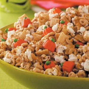 Pumpkin Snack Mix Recipe