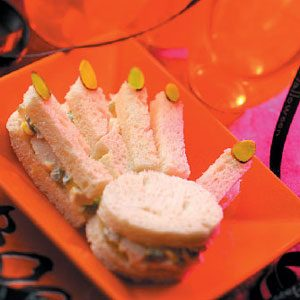 Freaky Hand Sandwiches Recipe