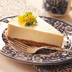 Eggnog Cheesecake Recipe