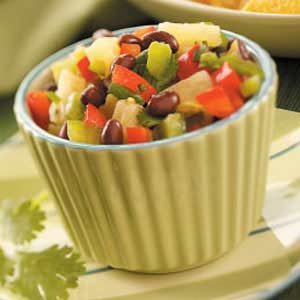Bean and Pineapple Salsa Recipe