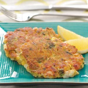 Crab Cakes with Fresh Lemon Recipe