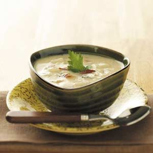 Makeover Baked Potato Soup Recipe