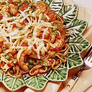 Shrimp and Pasta Supper Recipe